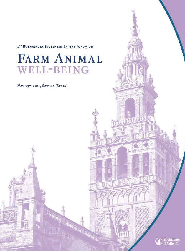 4th Expert Forum on Farm Animal Well-Being