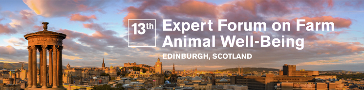 image Link to 13th Expert Forum on Farm Animal Well-being (Edinburgh, Scotland)